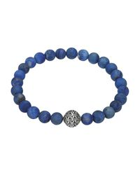 John Hardy | Blue Classic Chain Bead for Men | Lyst