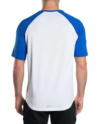 Superdry | White Sports Active Relaxed Tee for Men | Lyst