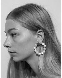 Meadowlark - Multicolor Pearl Disc Earrings - Lyst