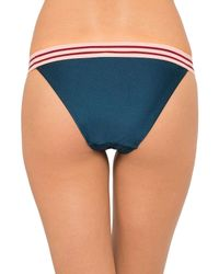 Zimmermann - Blue Elastic Skinny Pant - Lyst