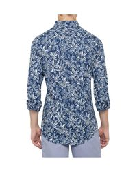 Tommy Hilfiger - Blue Indigo Double Floral Prt Nf3 for Men - Lyst