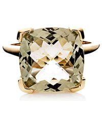 Jan Logan | Metallic 9ct Green Amethyst Tango Ring | Lyst