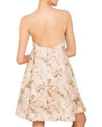 Zimmermann | Natural Bowerbird Sun Dress | Lyst