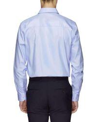 Ben Sherman - Blue Ls Sateen Twill Kings Shirt for Men - Lyst
