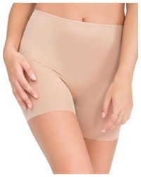 Spanx - Natural Skinny Britches® Girl Short - Lyst