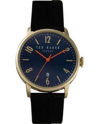Ted Baker | Daniel - Black/blue for Men | Lyst