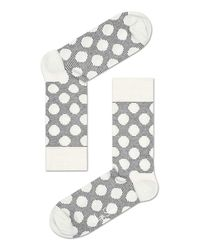 Happy Socks - Gray Big Dot Grey - Lyst
