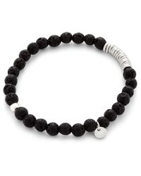 Tateossian - Metallic Disc Round-beads Bracelet - Lyst