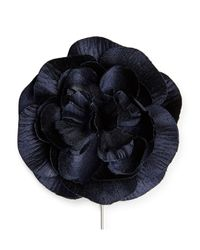 Calibre - Blue Ny Rose Flower Pin - Lyst