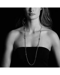 David Yurman - Metallic Bijoux Bead Necklace With Lapis Lazuli, Dumortierite, Hampton Blue Topaz And 18k Gold - Lyst
