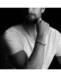 David Yurman - Metallic Fused Meteorite Cuff Bracelet for Men - Lyst