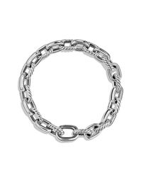 David Yurman - Metallic Cable Classic Oval Link Bracelet, 9mm - Lyst