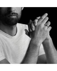 David Yurman - Exotic Stone Signet Ring With Black Diamonds for Men - Lyst