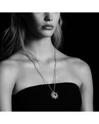 David Yurman - Green Starburst Pendant Necklace With Prasiolite And Diamonds, 30mm - Lyst