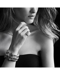 David Yurman - Metallic Renaissance Bracelet In 18k Gold, 10mm - Lyst