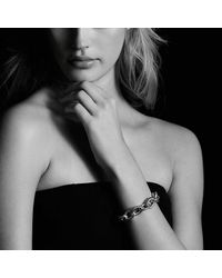David Yurman - Metallic Oval Extra-large Link Bracelet - Lyst
