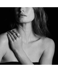David Yurman - Metallic Albion Ring With Black Diamonds, 14mm - Lyst