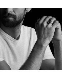 David Yurman - Petrvs Lion Signet Ring With Black Onyx - Lyst