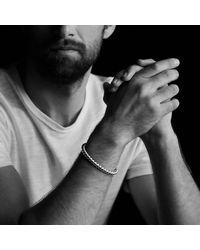 David Yurman - Metallic Cable Cuff Bracelet With 18k Gold, 6.5mm for Men - Lyst