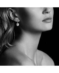 David Yurman - White Starburst Earrings With Pearls And Diamonds - Lyst