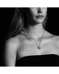 David Yurman - Metallic Starburst Pendant Necklace With Prasiolite And Diamonds, 23mm - Lyst