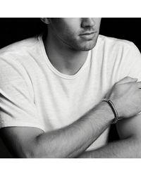 David Yurman - Pavé Id Bracelet With Black Diamonds for Men - Lyst