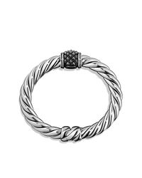 David Yurman - Multicolor Osetra Center Station Bracelet With Hematine, 10mm - Lyst