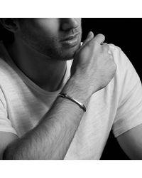 David Yurman - Metallic Anvil Cuff Bracelet for Men - Lyst