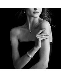 David Yurman - Metallic Labyrinth® Single-loop Bracelet With Diamonds, 10mm - Lyst