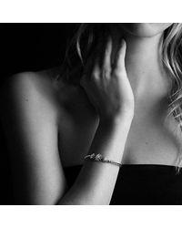 David Yurman - Multicolor Starburst Three-station Cable Bracelet With Diamonds, 3mm - Lyst