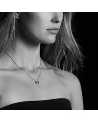 David Yurman - Châtelaine® Pendant Necklace With Black Onyx - Lyst