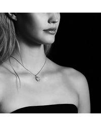 David Yurman - Metallic Starburst Small Pendant Necklace With Diamonds In 18k Rose Gold, 18mm - Lyst