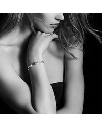 David Yurman | Metallic Helena End Station Bracelet With Turquoise, Diamonds And 18k Gold, 4mm | Lyst