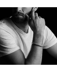 David Yurman | Metallic Exotic Stone Id Bracelet With Tiger's Eye for Men | Lyst
