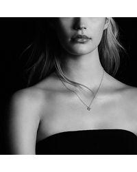 David Yurman - Metallic Venetian Quatrefoil® Necklace With Diamonds In 18k Gold - Lyst
