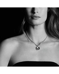 David Yurman | Purple Albion Pendant With Amethyst And Diamonds, 17mm | Lyst