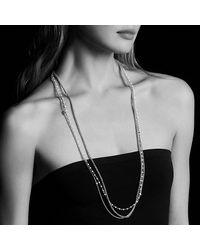 David Yurman - Metallic Starburst Chain Necklace With Pearls - Lyst