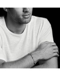 David Yurman - Hex Station Chain Bracelet In Black - Lyst