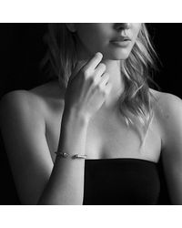 David Yurman - Cable Classic Bracelet With Black Onyx And 14k Gold, 5mm - Lyst