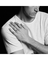 David Yurman - Metallic Petrvs Bee Signet Pinky Ring Wth Black Onyx In 18k Gold for Men - Lyst