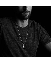 David Yurman - Metallic Frontier Eagle Talon Amulet - Lyst