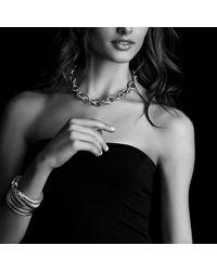 David Yurman | Metallic Renaissance Bracelet With Carnelian And Madiera Citrine In 18k Gold, 10mm | Lyst