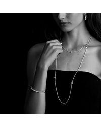 David Yurman - Metallic Crossover Small Hoop Earrings With Diamonds In 18k Gold - Lyst
