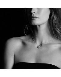 David Yurman | Metallic Starburst Small Pendant Necklace With Diamonds, 16mm | Lyst