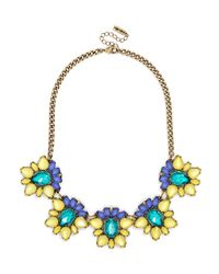 BaubleBar | Yellow Acid Blossom Collar | Lyst