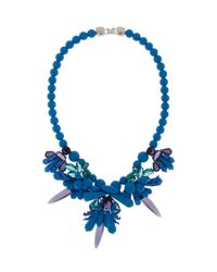 EK Thongprasert | Blue Tear Drop Necklace | Lyst