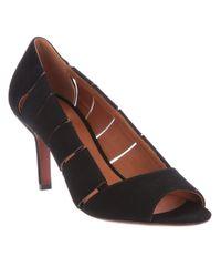 Michel Vivien - Black Open Toe Shoe - Lyst