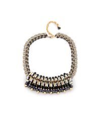 Nocturne | Metallic Natalia Necklace | Lyst