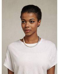 Julie Thevenot | Gray Short Island Gradient Necklace | Lyst