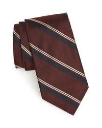 Todd Snyder - Purple Woven Silk Tie for Men - Lyst